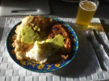 Dänische Fischplatte: Rotzunge und Scholle Müllerin Art mit Currysauce - Rezept