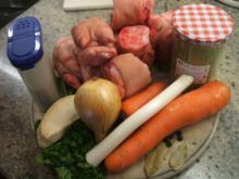 Vorrat: Grundrezept für Fleischbrühe - Basis für alle möglichen Sülzen - Rezept