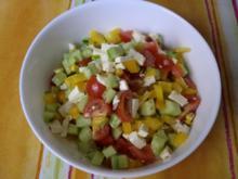 Salat griechischer Art - Rezept