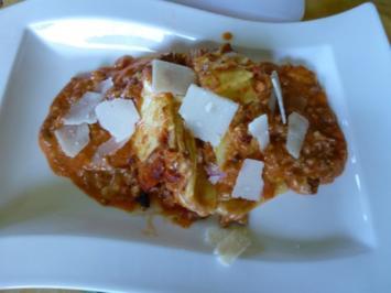 Lammhack-Lasagne - Rezept