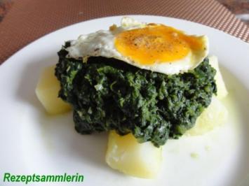 Gemüse:   WÜRZSPINAT  meine Variante - Rezept