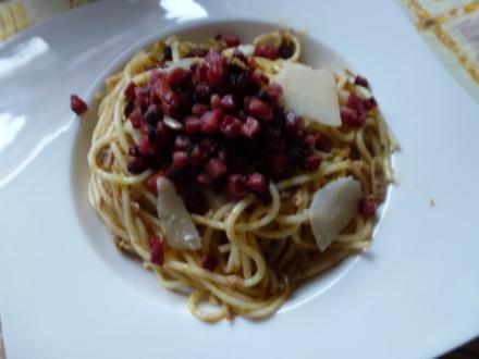 Wilde Spaghetti - Rezept