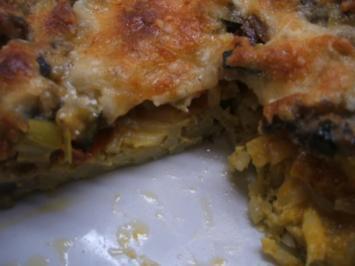 Pasta: Nudelpizza für die 16er Form - Rezept