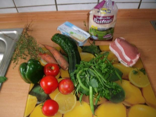 Gemüsereis mit Geschnetzeltem vom Minutensteak - Rezept - Bild Nr. 3