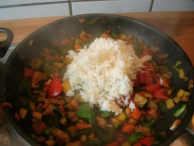 Gemüsereis mit Geschnetzeltem vom Minutensteak - Rezept - Bild Nr. 15