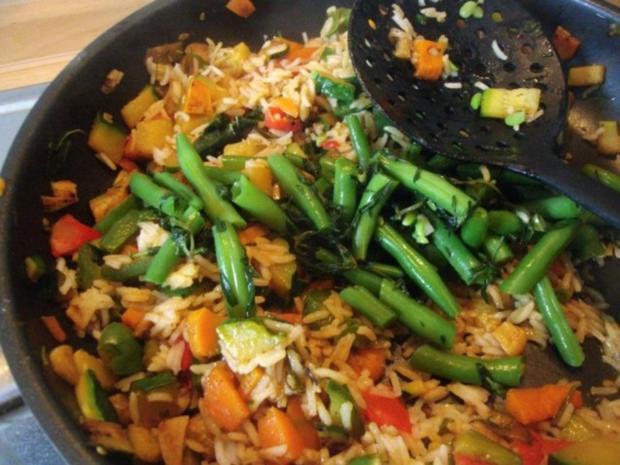 Gemüsereis mit Geschnetzeltem vom Minutensteak - Rezept - Bild Nr. 17