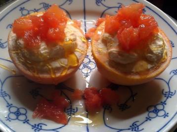 Grapefruit - Cheese - Eis - Rezept