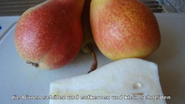 Birnen - Cranberrie Marmelade - Rezept - Bild Nr. 2