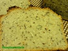 Brot:   KÖRNER - MISCHBROT  außen kross und innen saftig - Rezept
