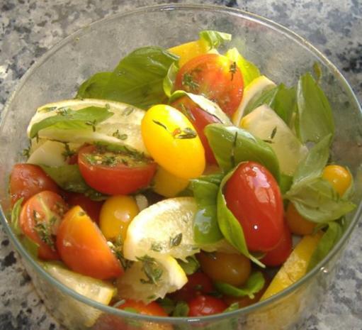 Forellen mit Tomatenfüllung - Rezept - Bild Nr. 2