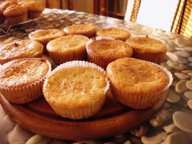 leichte Apfelmuffins - Rezept