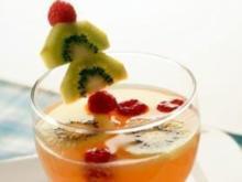 Tropical Sommer-Bowle - Rezept