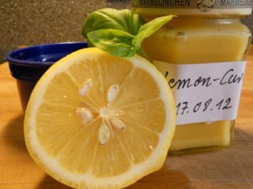 Lemon-Curd - Rezept