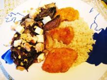 Radicchio mit Feta und gerösteten Nüssen - Rezept