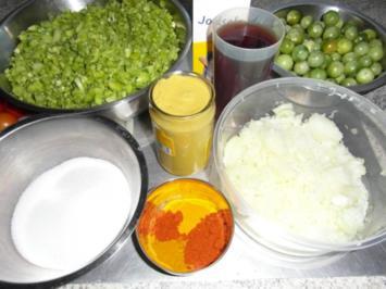 grüne Tomaten-Marmelade - Rezept