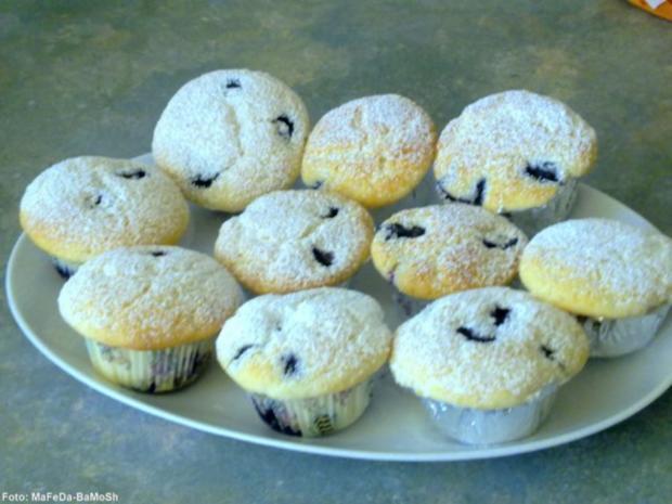 Heidelbeer-Muffins - Rezept - Bild Nr. 2