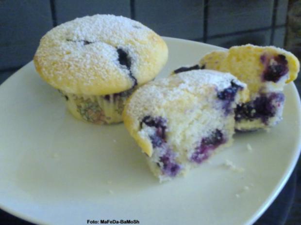 Heidelbeer-Muffins - Rezept - Bild Nr. 3