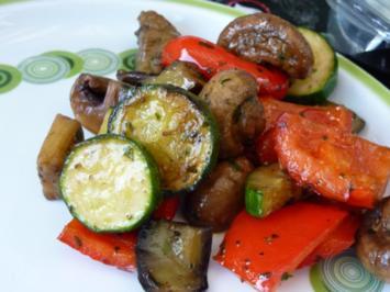Vegetarisch: Gemüse vom Grill - Rezept