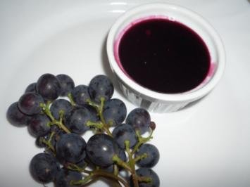 Weintraubenmarmelade - Rezept