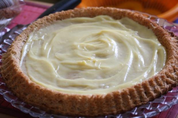 Obstkuchen mit Puddingcreme - Rezept - Bild Nr. 2