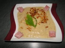 Blumenkohlsuppe, ideal als Vorspeise - Rezept