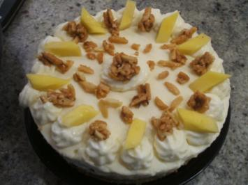 Backen: Mango-Bananen-Torte für die 16er-Form - Rezept