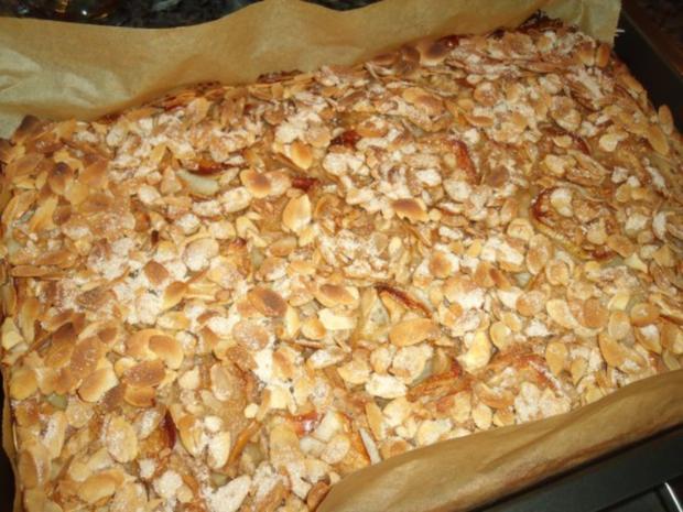 Schwedischer Apfelkuchen Vom Blech Rezept Kochbar De