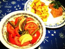 Tomaten-Bohnensalat ... - Rezept