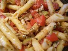 Pesto Nudelsalat - Rezept