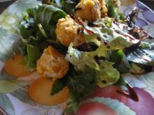 Pralinen vom Räucher Saibling im Salat Bett - Rezept