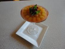 Holunderblüten Joghurt Mousse mit Veltliner Trauben Gelee - Rezept