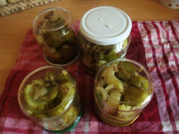 Schnelle Gurke - Pfeffergurke einkochen - Rezept - Bild Nr. 4