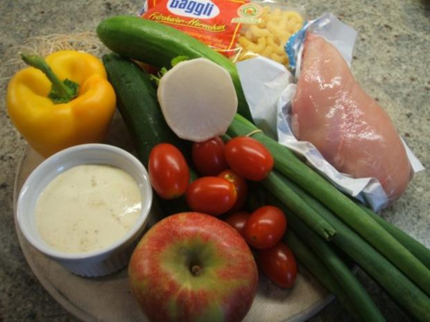 Salate: Nudelsalat, die 583igste Variante - Rezept - Bild Nr. 2