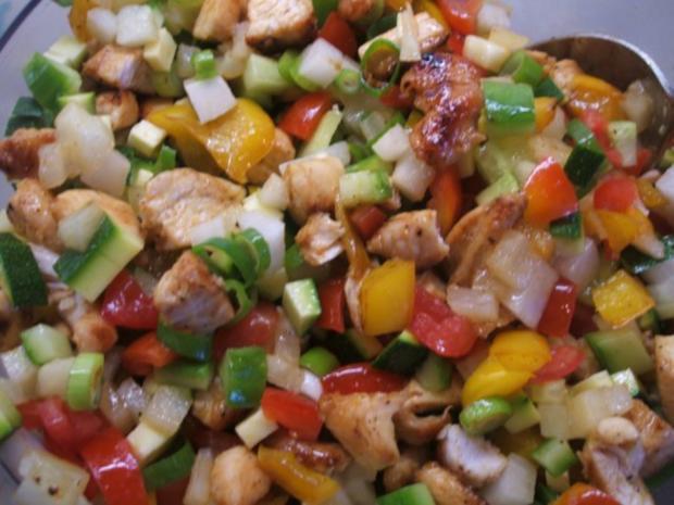 Salate: Nudelsalat, die 583igste Variante - Rezept - Bild Nr. 9