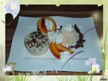 Eis : Nektarine Sahneeis mit Pinacolada - Rezept
