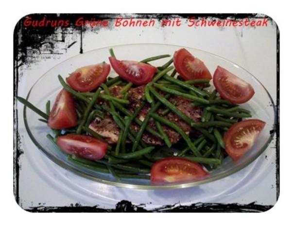 Fleisch: Hawaianisches Nackensteak gebettet in grünen Bohnen - Rezept - Bild Nr. 5