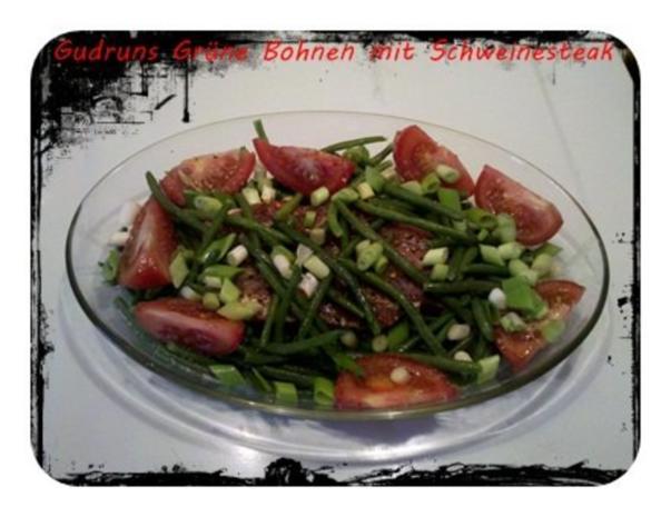 Fleisch: Hawaianisches Nackensteak gebettet in grünen Bohnen - Rezept - Bild Nr. 6