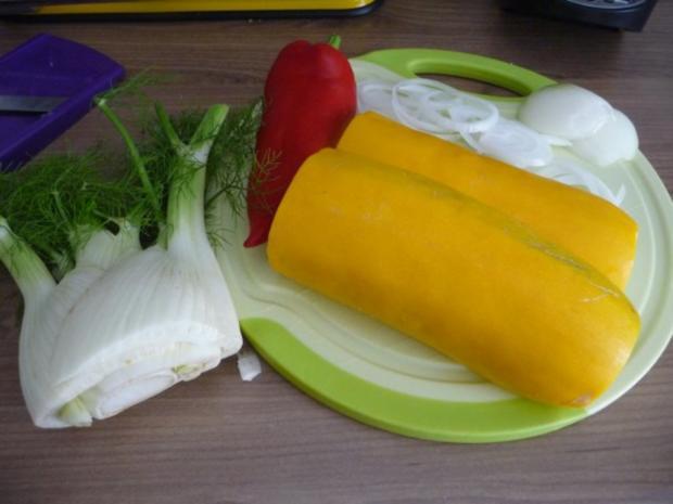 Fleischlos : Spaghettiauflauf mit Gemüse - Rezept - Bild Nr. 2