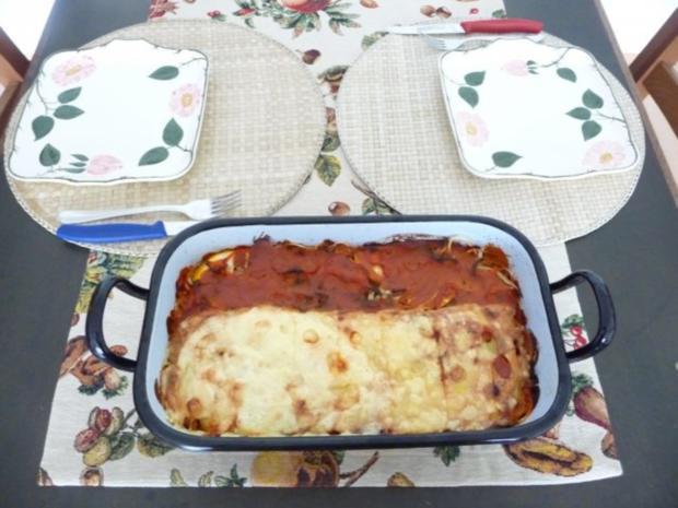 Fleischlos : Spaghettiauflauf mit Gemüse - Rezept - Bild Nr. 15