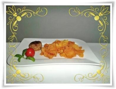 Kartoffelchips aus der Fritteuse - Rezept