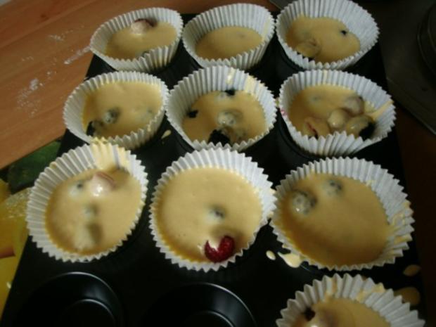 Himbeerige - Brombeer Muffins - Rezept - Bild Nr. 7