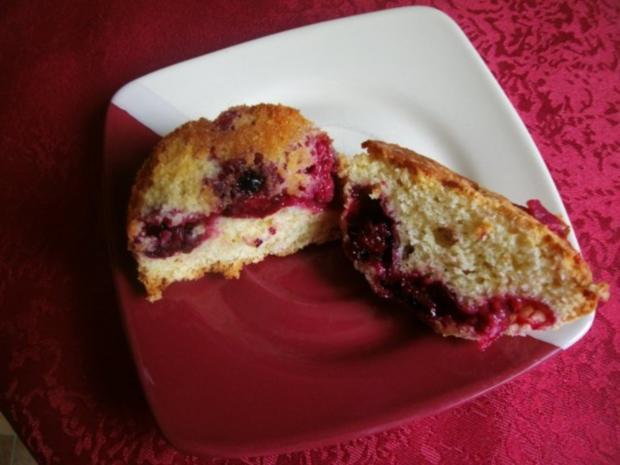 Himbeerige - Brombeer Muffins - Rezept - Bild Nr. 9