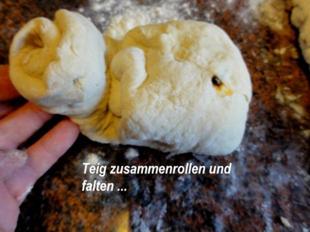 Brot:  CIBATTA mit Walnüssen oder eingelegten Tomaten - Rezept - Bild Nr. 10