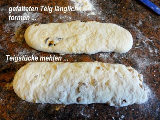 Brot:  CIBATTA mit Walnüssen oder eingelegten Tomaten - Rezept - Bild Nr. 11