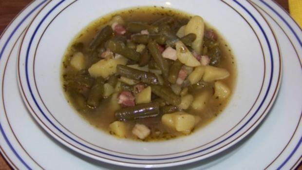 Grüner-Bohnen-Eintopf - Rezept