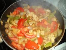 Gemüsepfannenallerlei - Rezept