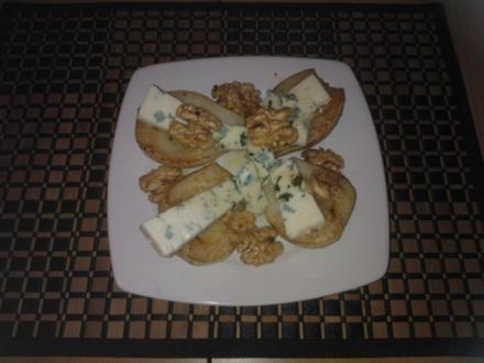 Heiße Roquefort Birne - Rezept