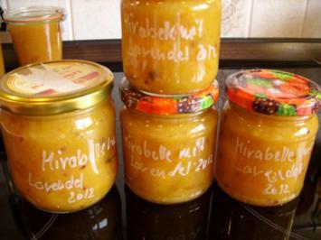 Konfitüre & Co: Mirabelle mit Lavendel - Rezept