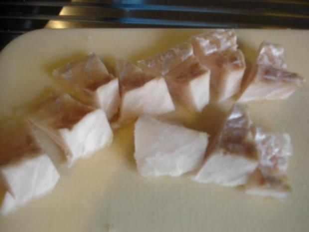 """Kibbelinge """"asiatisch"""" mit Remoulade und Pommes frites - Rezept - Bild Nr. 4"""