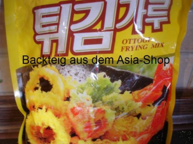 """Kibbelinge """"asiatisch"""" mit Remoulade und Pommes frites - Rezept - Bild Nr. 6"""